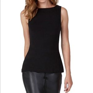 Bailey 44 Lace Up sleeveless top